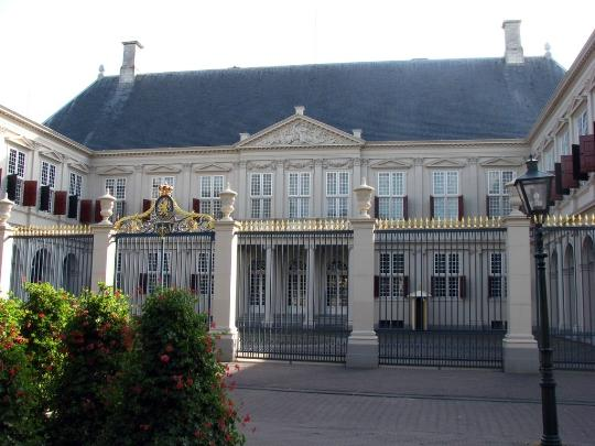 Royal palace noordeinde in the hague, holland