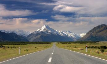 Новая Зеландия. Aoraki Mount Cook National Park